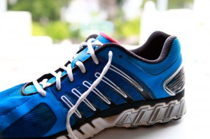 How to tie a running shoe