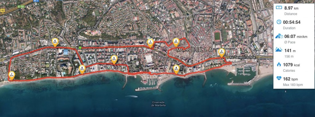 "Solidarity race ""Kilometers with a cause"" Marbella"