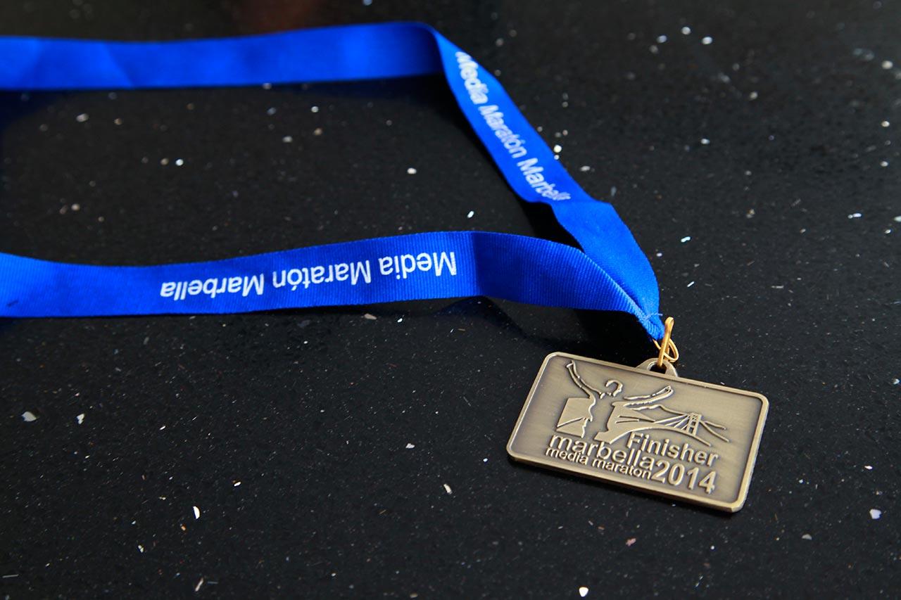 XXIX Media Maratón de Marbella - Medalla