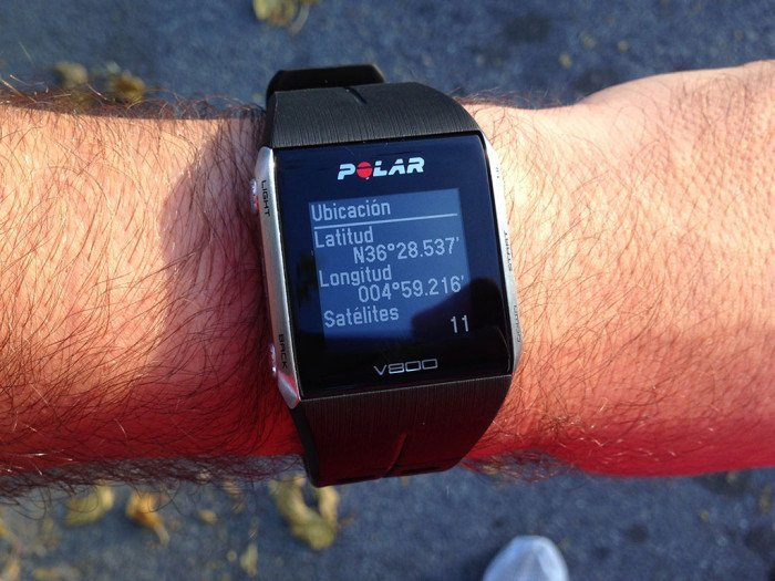 Polar V800, points of interest