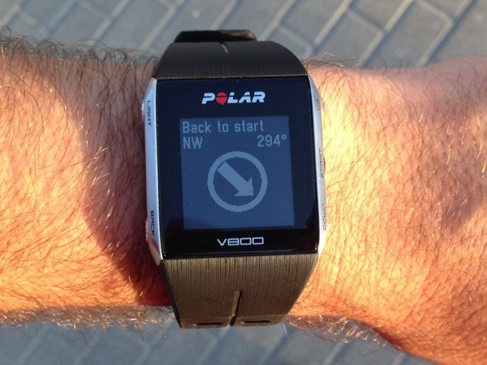 Back to the top with the Polar V800
