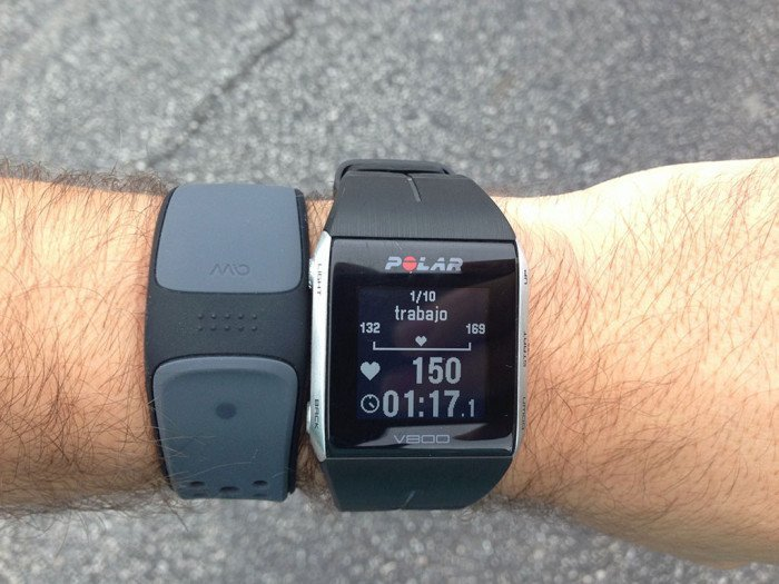 Interval training with the Polar V800