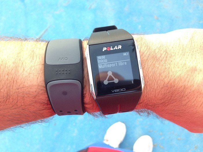 Polar V800, multisport mode