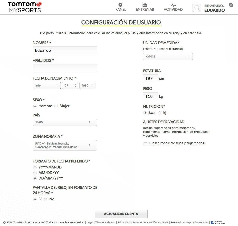 MySports TomTom 5