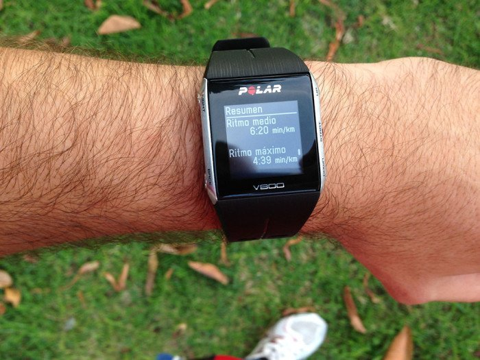 Polar V800 Activity Summary, screen 10