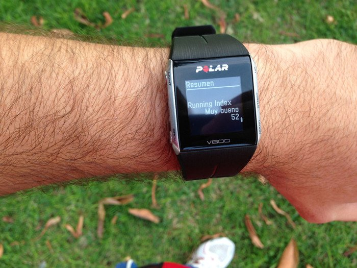Polar V800 Activity Summary, screen 11