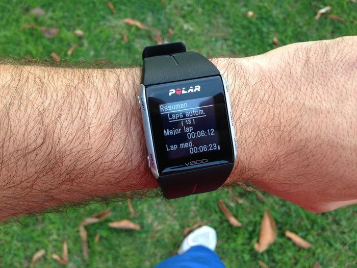 Polar V800 Activity Summary, screen 13