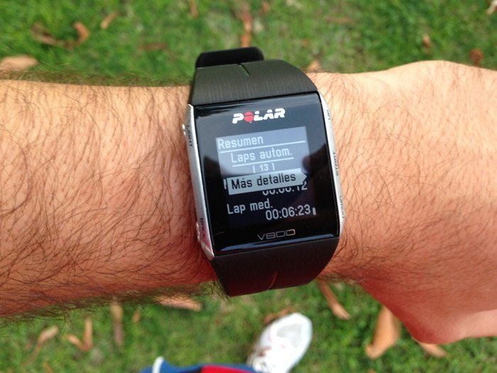Polar V800 Activity Summary, screen 14