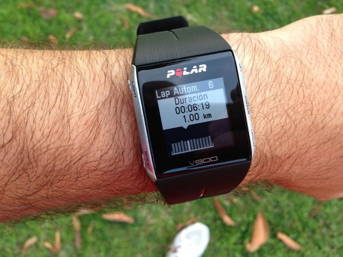 Polar V800 activity summary, screen 15
