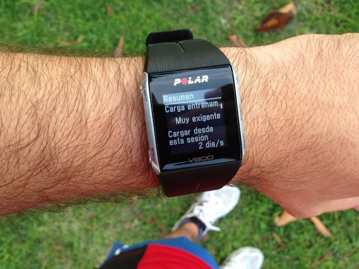 Polar V800 Activity Summary, screen 2