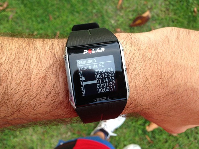Polar V800 Activity Summary, screen 6