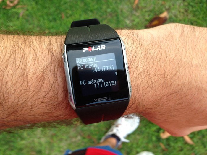 Polar V800 Activity Summary, screen 7