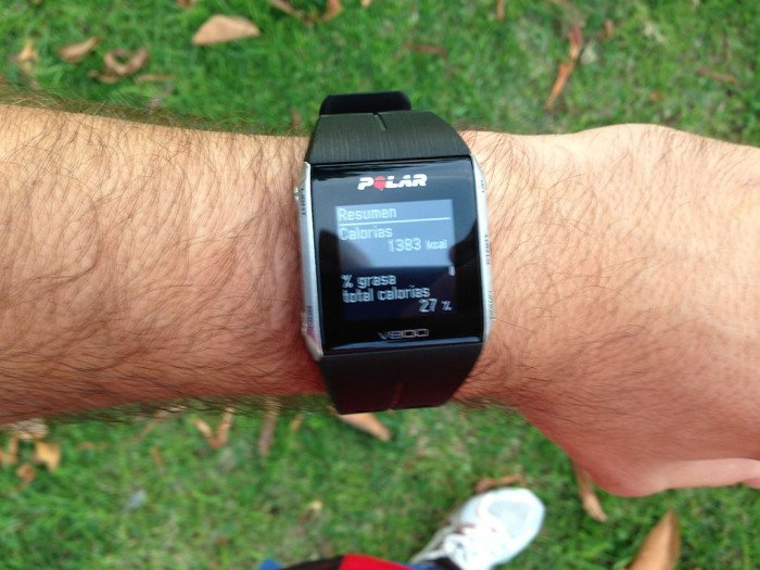 Polar V800 Activity Summary, screen 8
