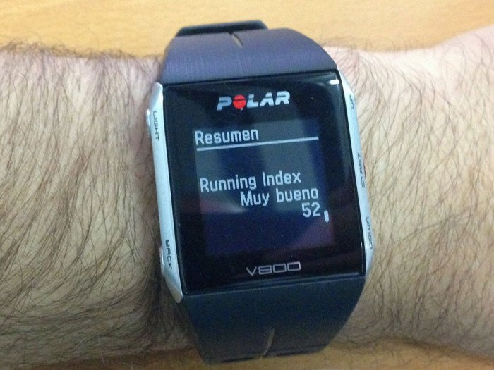 Running Index Polar V800