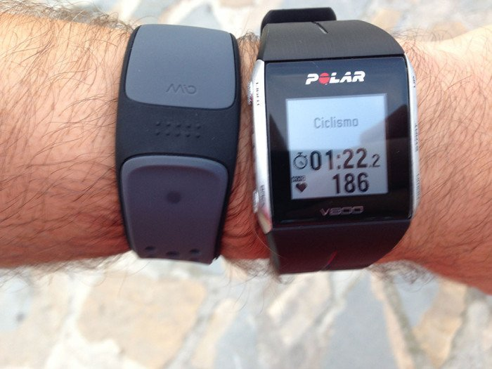 Polar V800, triathlon mode 6