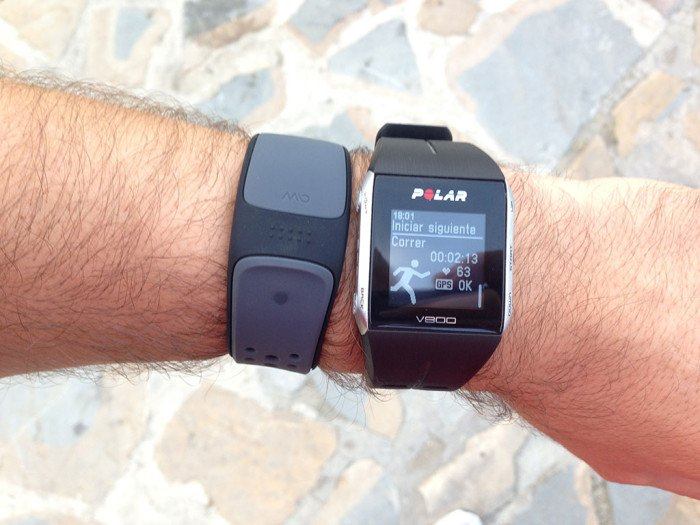 Polar V800, triathlon mode 7