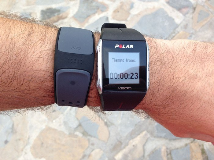 Polar V800, triathlon mode 8