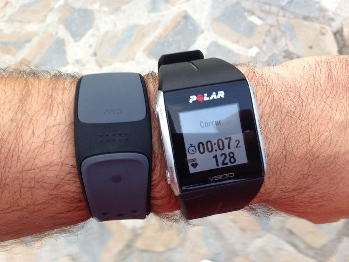 Polar V800, triathlon mode 9