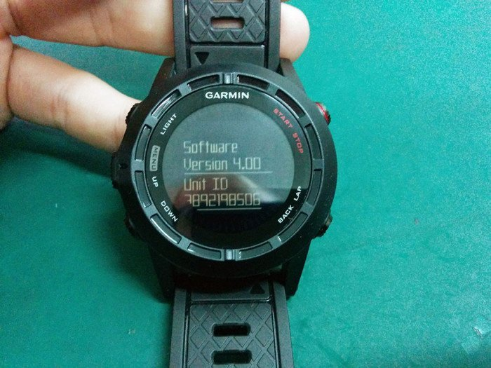 Garmin Fenix 2 Update