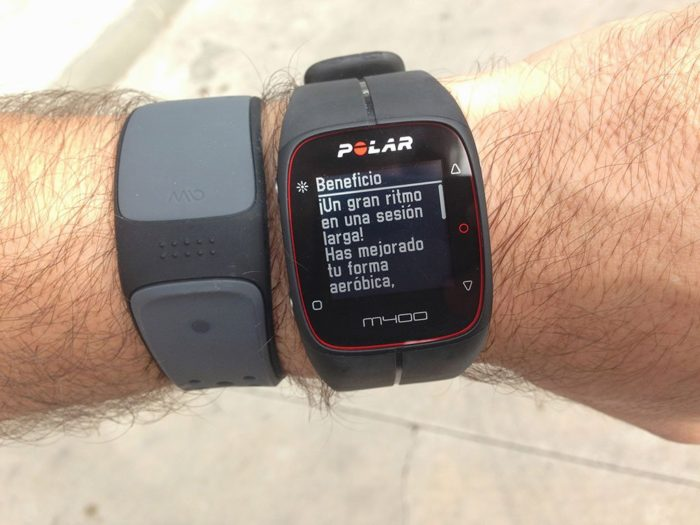 Polar M400 Training Benefit