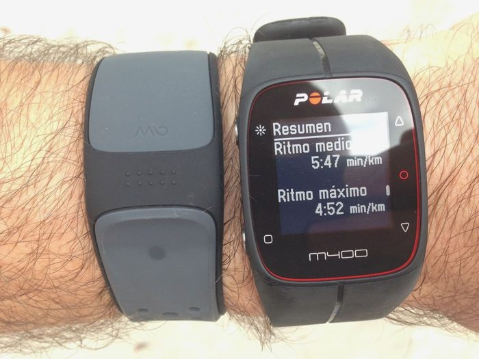Polar M400 Training Summary
