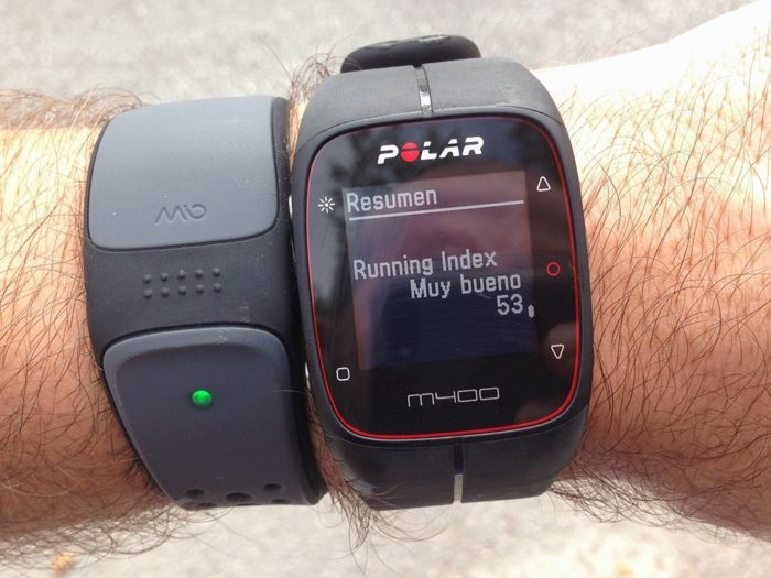 Running Index Polar M400