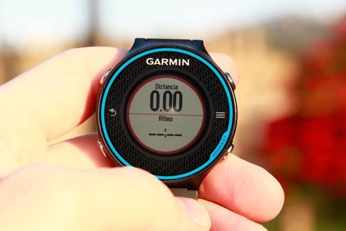 Garmin 620 with 2-data page