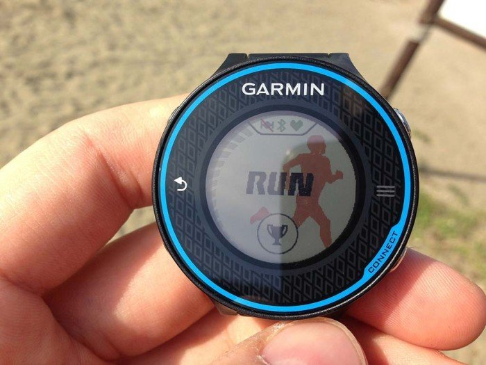 Garmin FR620 GPS off