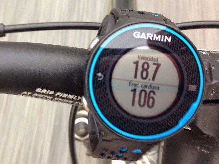 Garmin 620 bicicleta