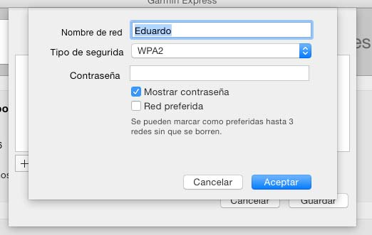 Configure Garmin 620 WiFi - 5