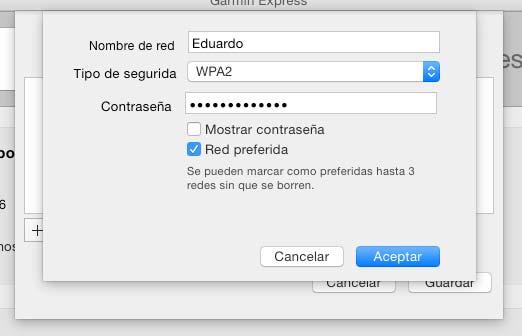 Configurar WiFi Garmin 620 - 6