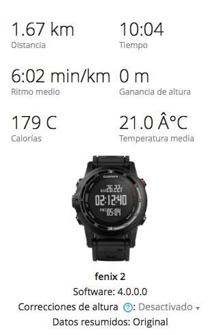 Comparativa Garmin Fenix 2