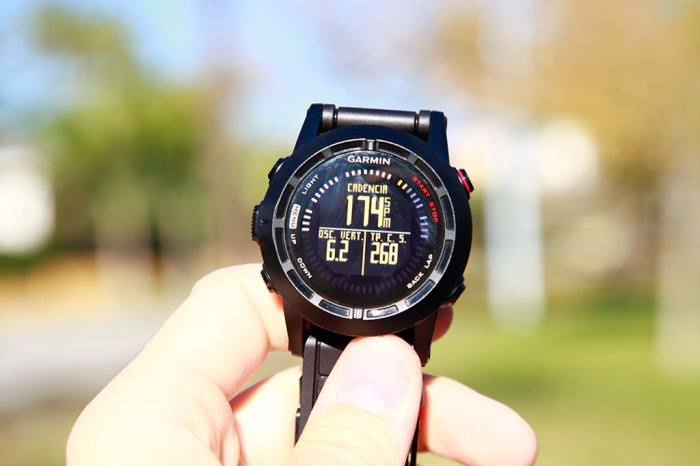 Running Dynamics Garmin Fenix 2
