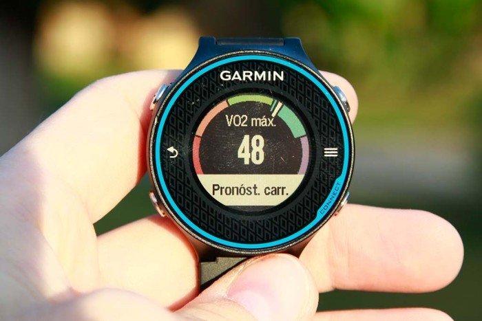VO2Max Garmin 620