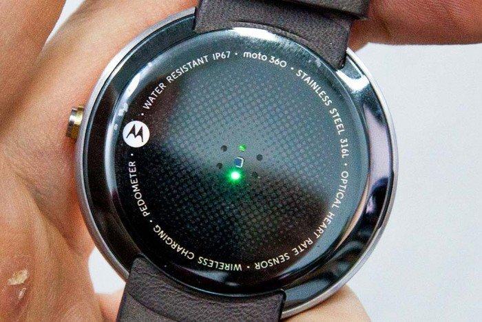 Motorola Moto 360, sensor