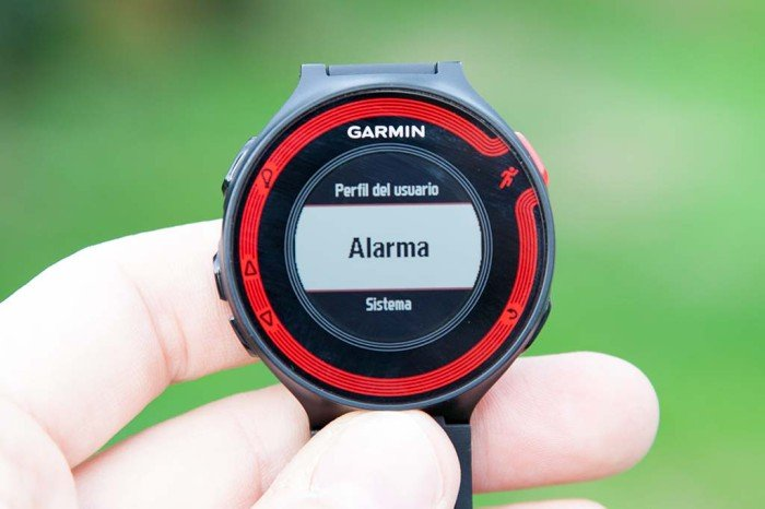 Alarma Garmin 220