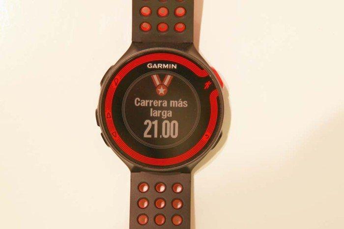 Record de distancia Garmin Forerunner 220 2