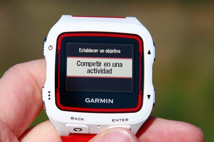 Garmin 920xt - Competing against activity