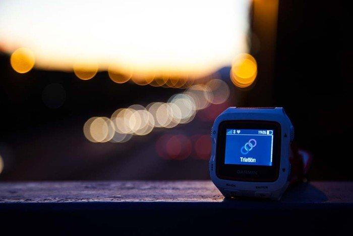 Garmin 920xt - Iluminación nocturna