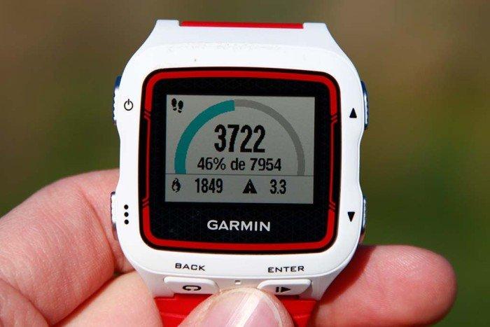 Garmin Forerunner 920xt - Pantalla completa del monitor de actividad