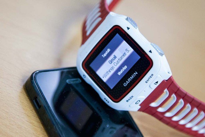 Garmin 920xt notificaciones smartphone