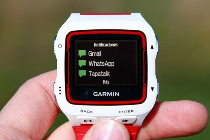 Garmin Forerunner 920xt - Notificaciones