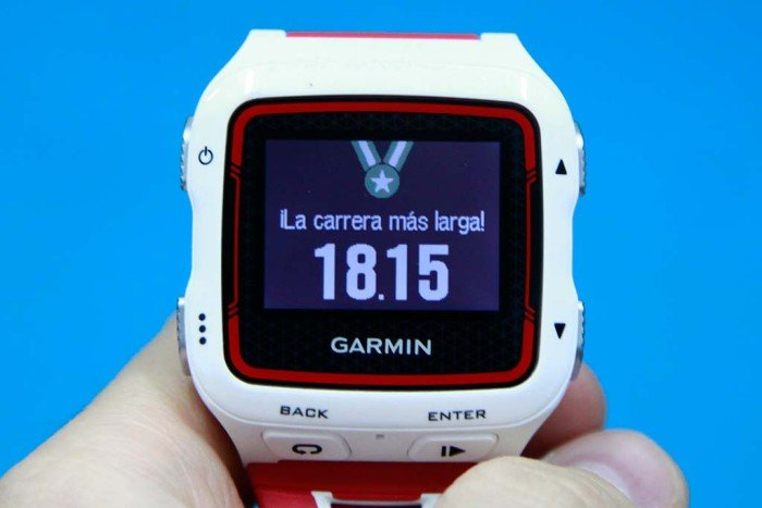 Garmin 920xt - Record de distancia