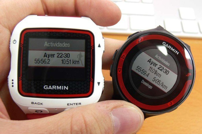 Running indoors with Forerunner 220