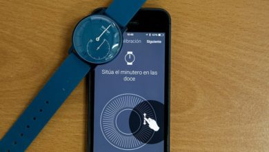 Calibrar manecillas en Withings Activité Pop