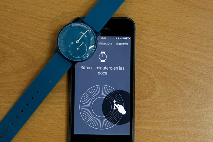 Calibrating hands in Withings Activité Pop