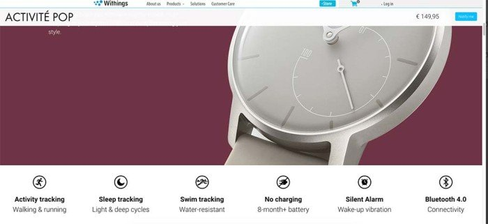 Withings Activité Pop nadar 2