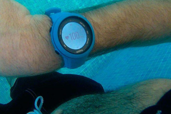 Suunto Ambit3, información de pulsaciones bajo el agua