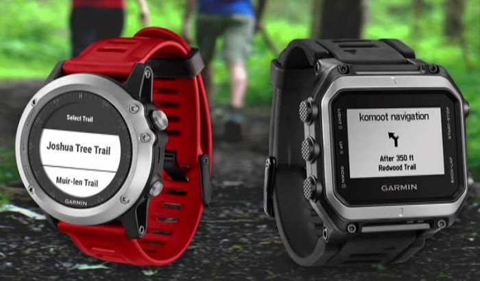 Garmin Connect IQ - Komoot