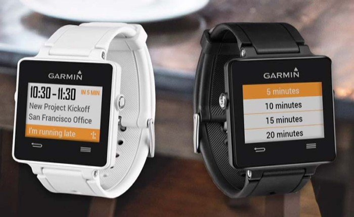 Garmin Connect IQ - Widget Tempo
